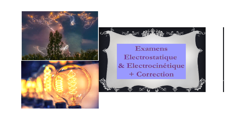 Examens de l'électricité I -correction 2018-2019